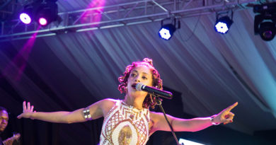 Phyllisia Ross, King James performed at Kigali Jazz Junction