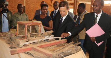 USA ambassador announces $100,000 grant for conservation of textiles in Nyamata memorial site