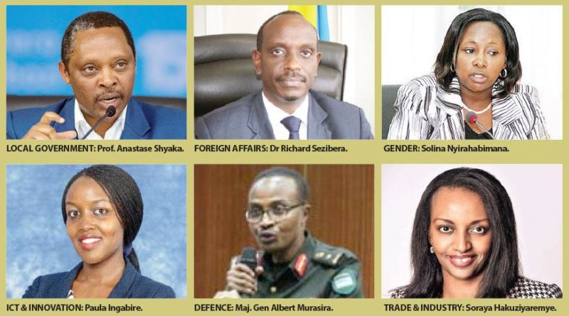 Major changes in Rwanda government as some official positions are dropped