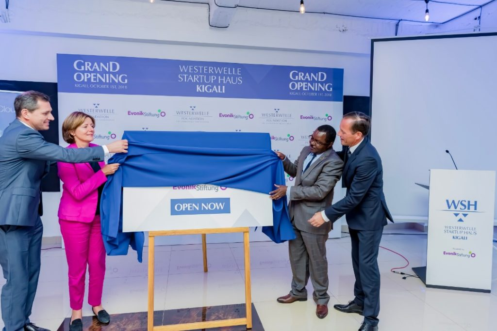 New entrepreneurship facility 'Westerwelle Startup Haus' opened in