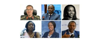 Who are the new faces in the Rwanda's cabinet?