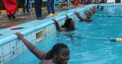 Kigali: First ever women swimming contest challenged GBV, Sexual harassment