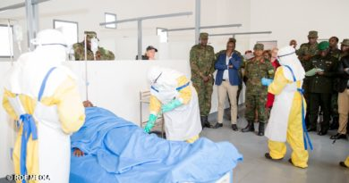 Ebola readiness: RDF performs third full scale Ebola simulation exercise in Rubavu as the disease has killed 1,200 people in DR Congo