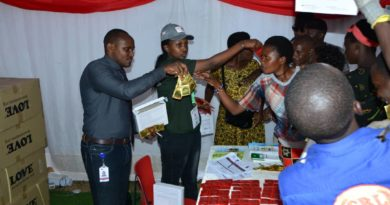 AHF Rwanda distributes over 400,000 Condoms at Rwanda's Int'l Trade Fair to curb HIV/AIDS