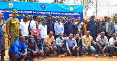 Over 440 transporters conclude training on road safety